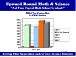 upward bound math science not your typical high school graduate16