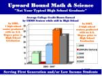 upward bound math science not your typical high school graduate18