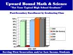 upward bound math science not your typical high school graduate21