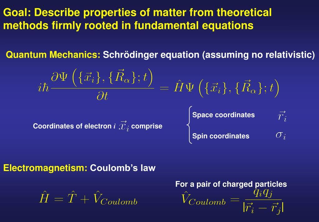 Quantum Mechanics: