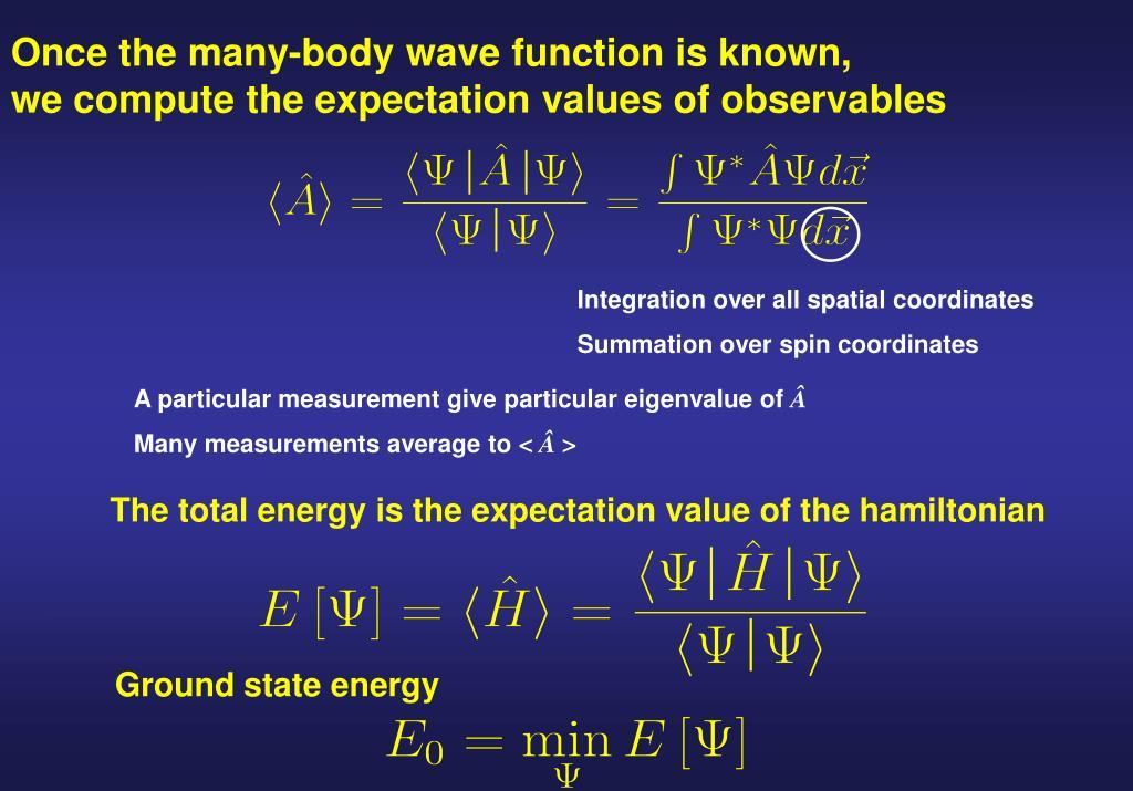 Integration over all spatial coordinates