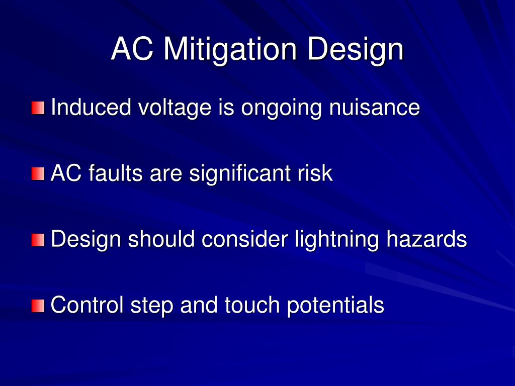 AC Mitigation Design