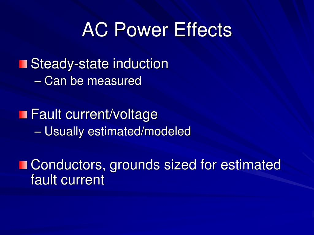 AC Power Effects