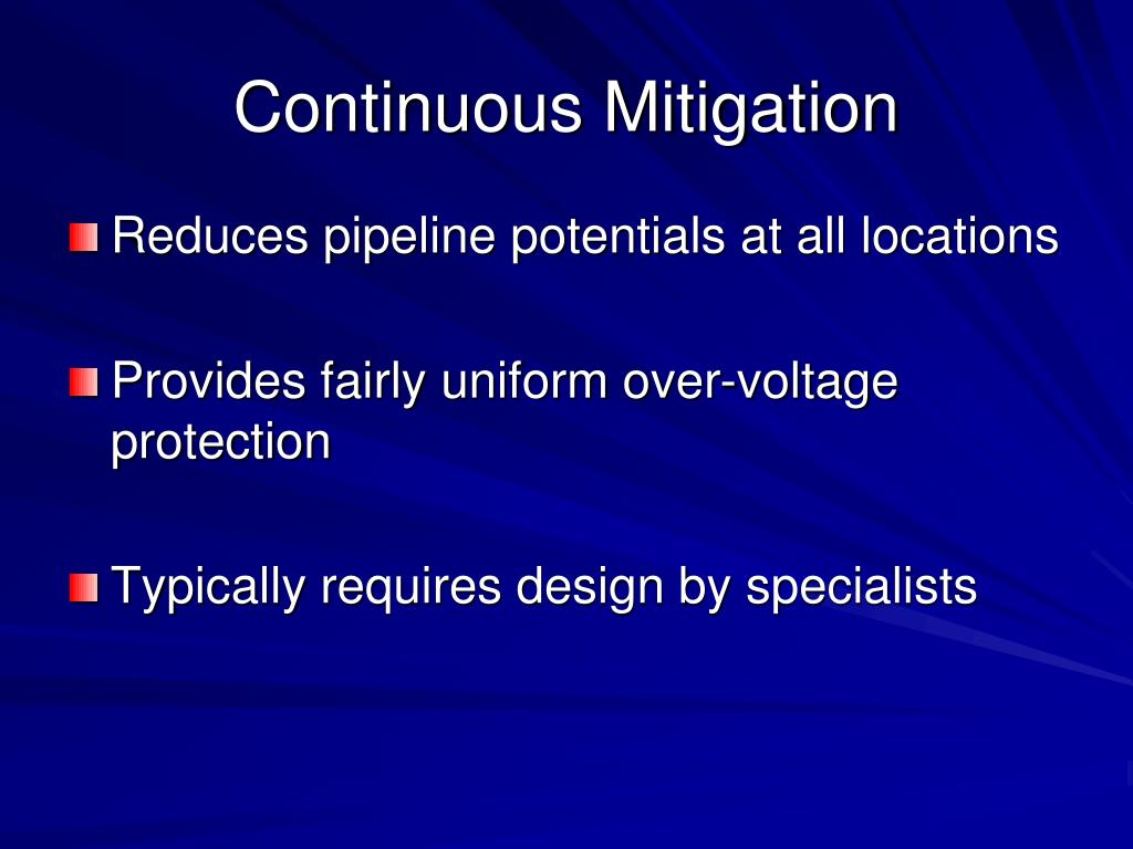 Continuous Mitigation