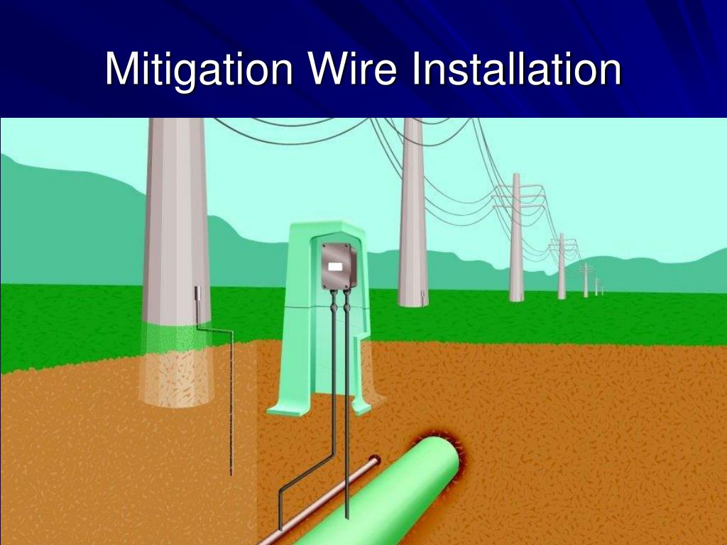Mitigation Wire Installation