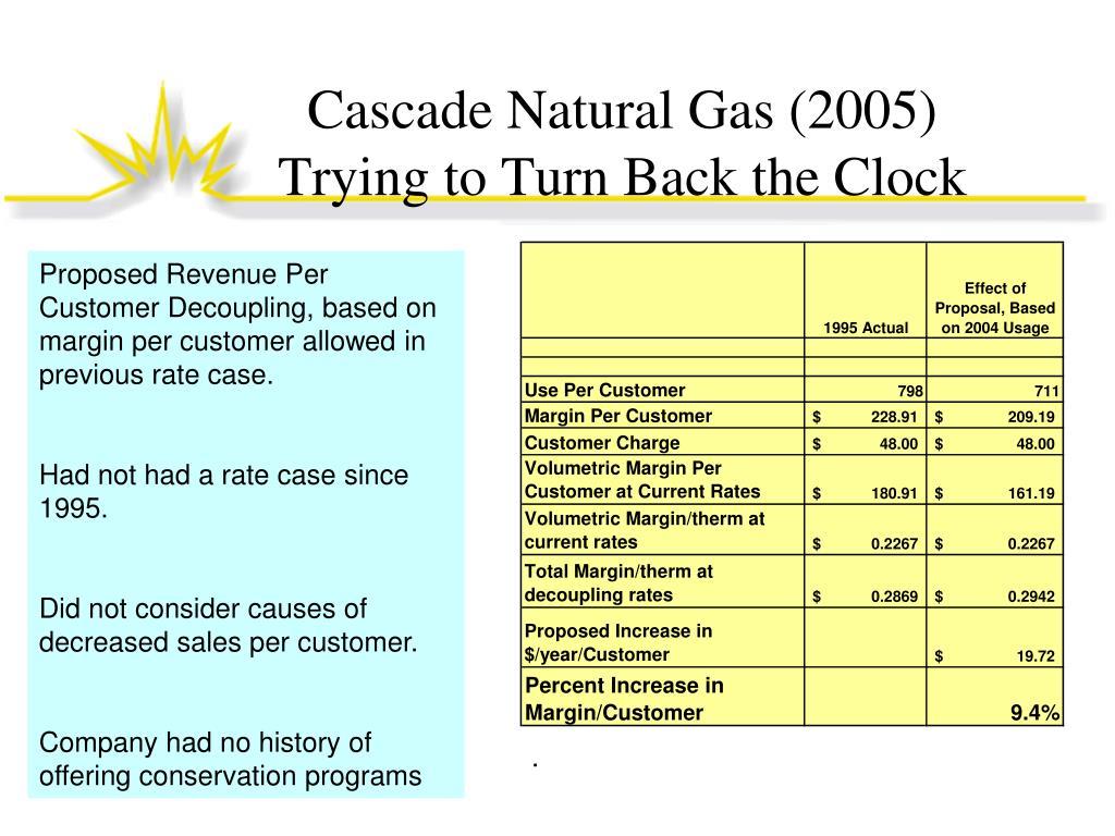 Cascade Natural Gas (2005)