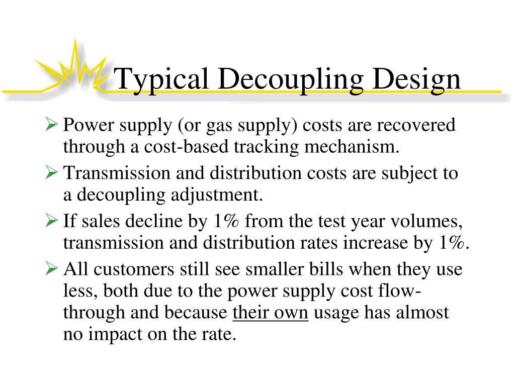 Typical Decoupling Design