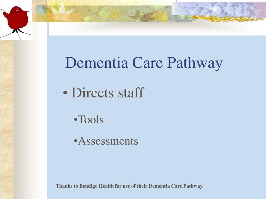 Dementia Care Pathway