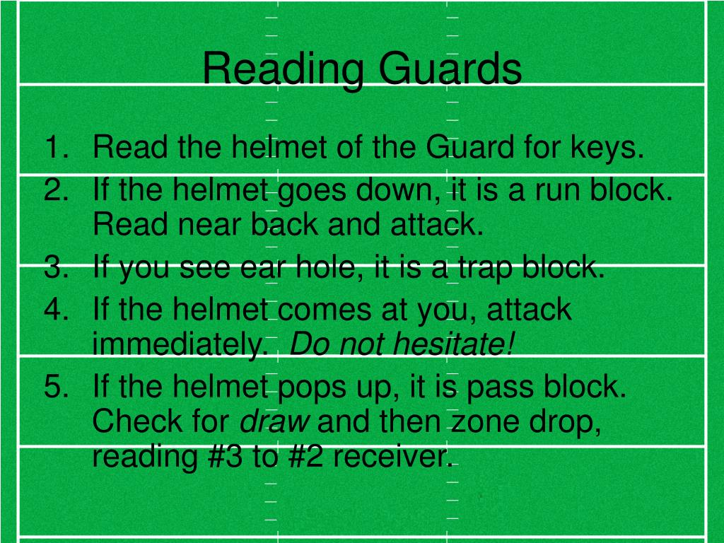Reading Guards