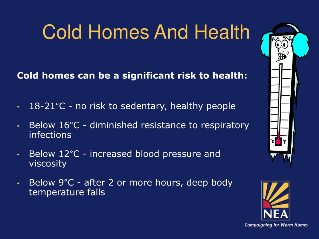 Cold Homes And Health