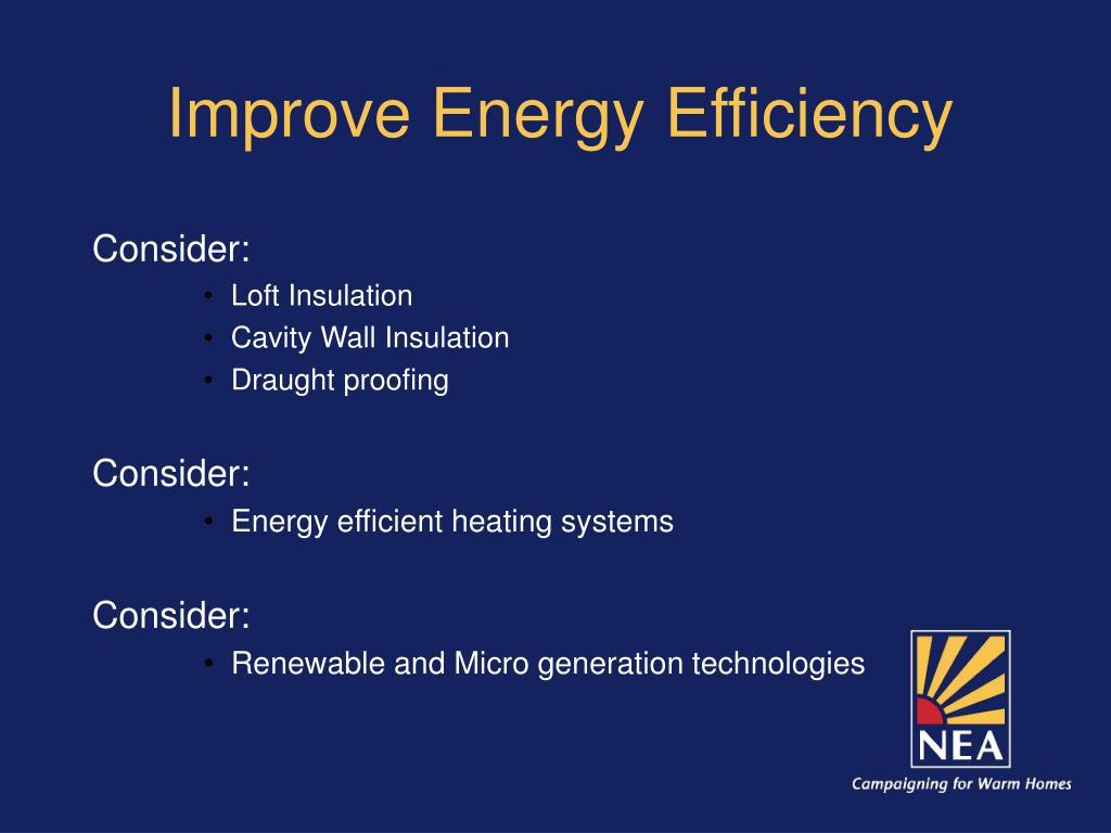 Improve Energy