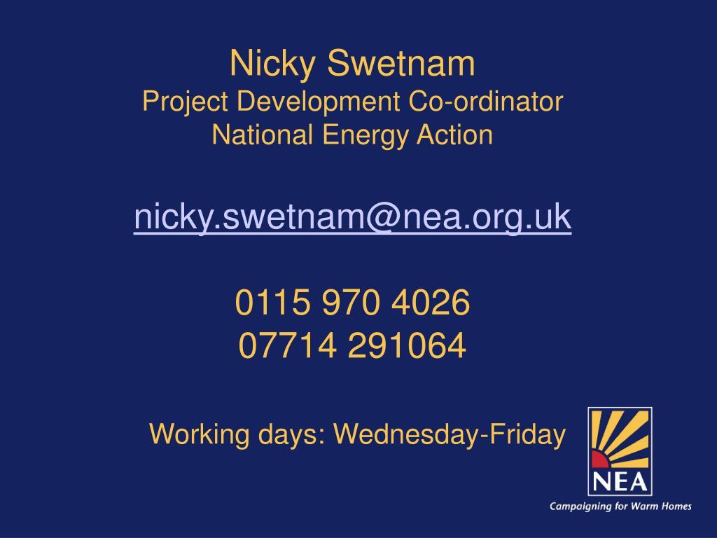 Nicky Swetnam