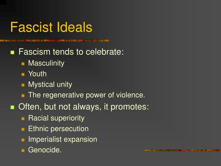 Fascist Ideals