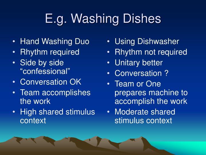 Hand Washing Duo