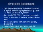 emotional sequencing