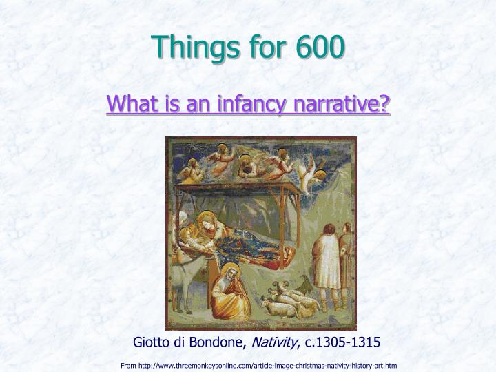 Things for 600