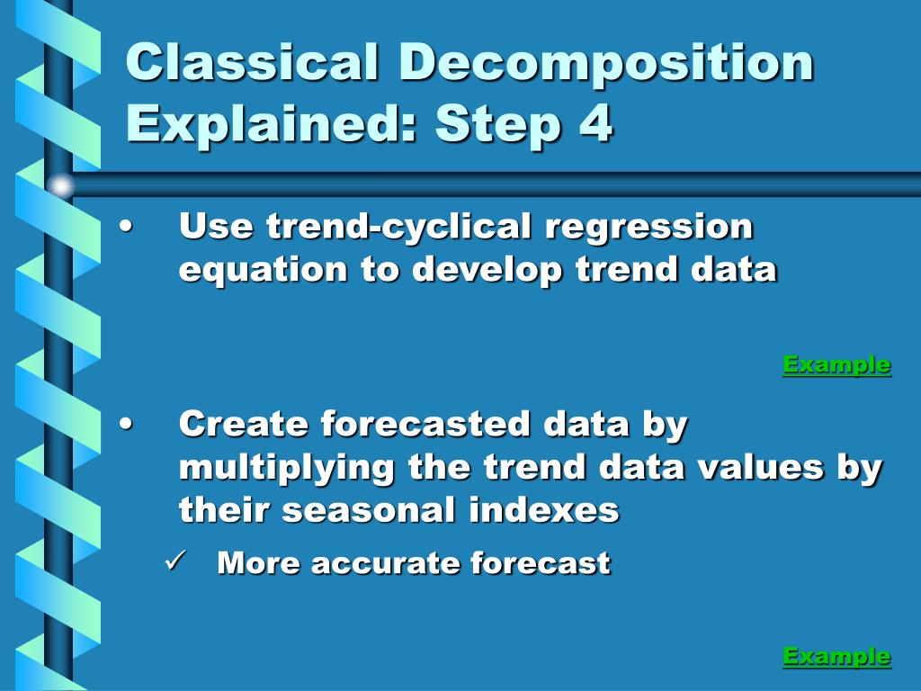 Classical Decomposition Explained: Step 4