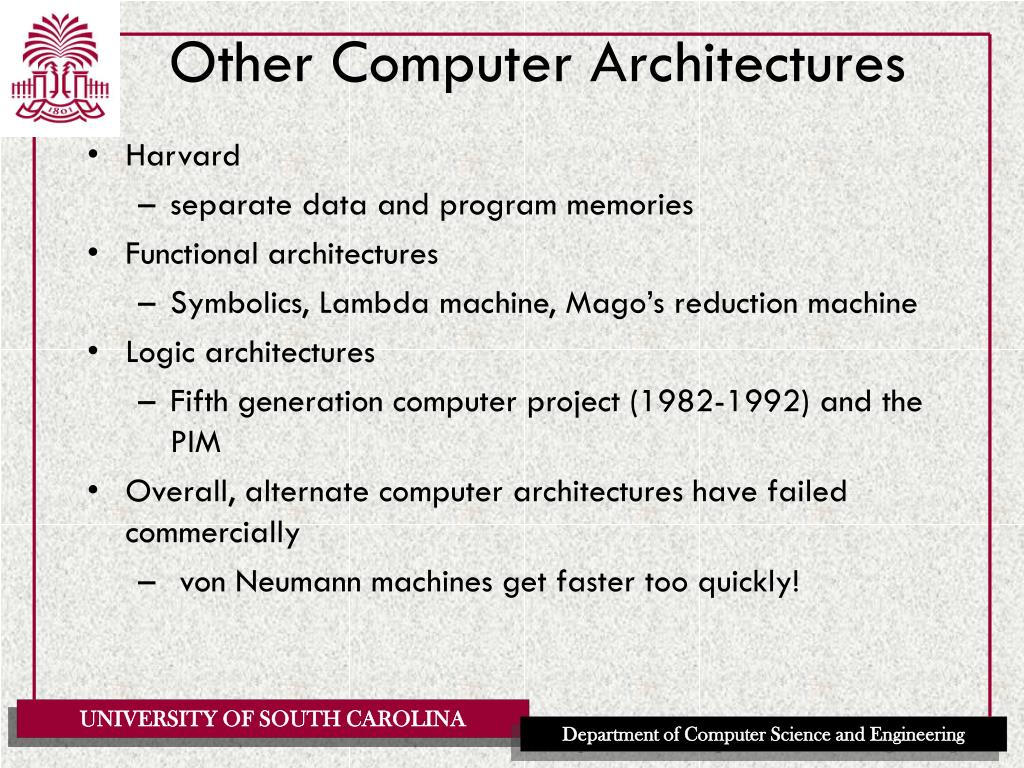 Other Computer Architectures