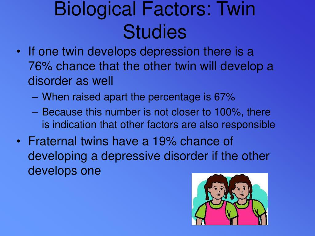 Biological Factors: Twin Studies
