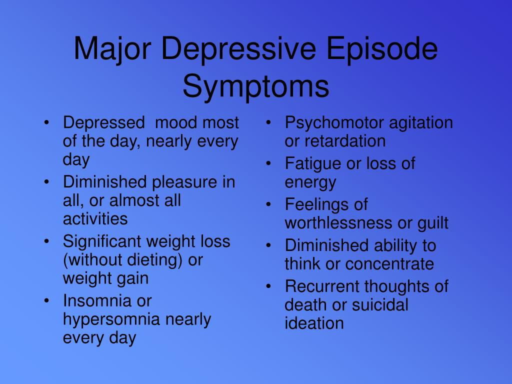 Depressed  mood most of the day, nearly every day