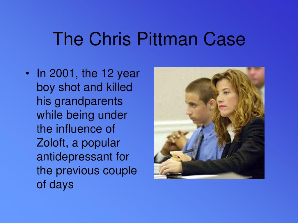 The Chris Pittman Case