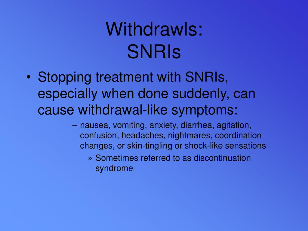 Withdrawls: