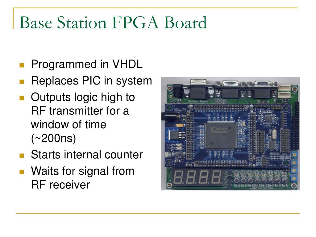 Base Station FPGA Board