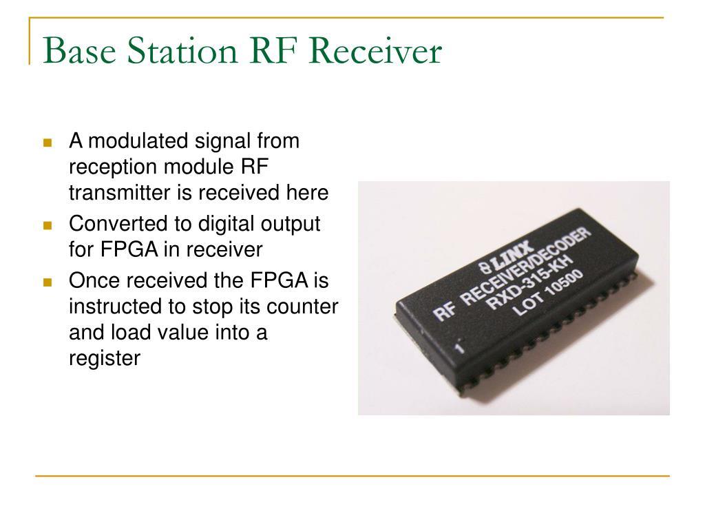 Base Station RF Receiver