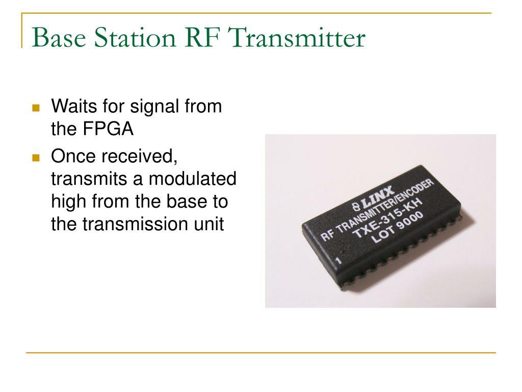 Base Station RF Transmitter