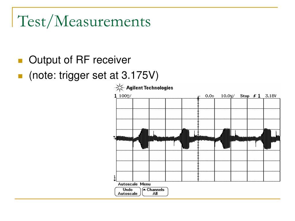 Test/Measurements