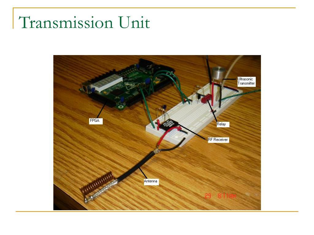 Transmission Unit