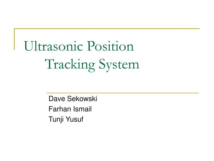 Ultrasonic position tracking system l.jpg