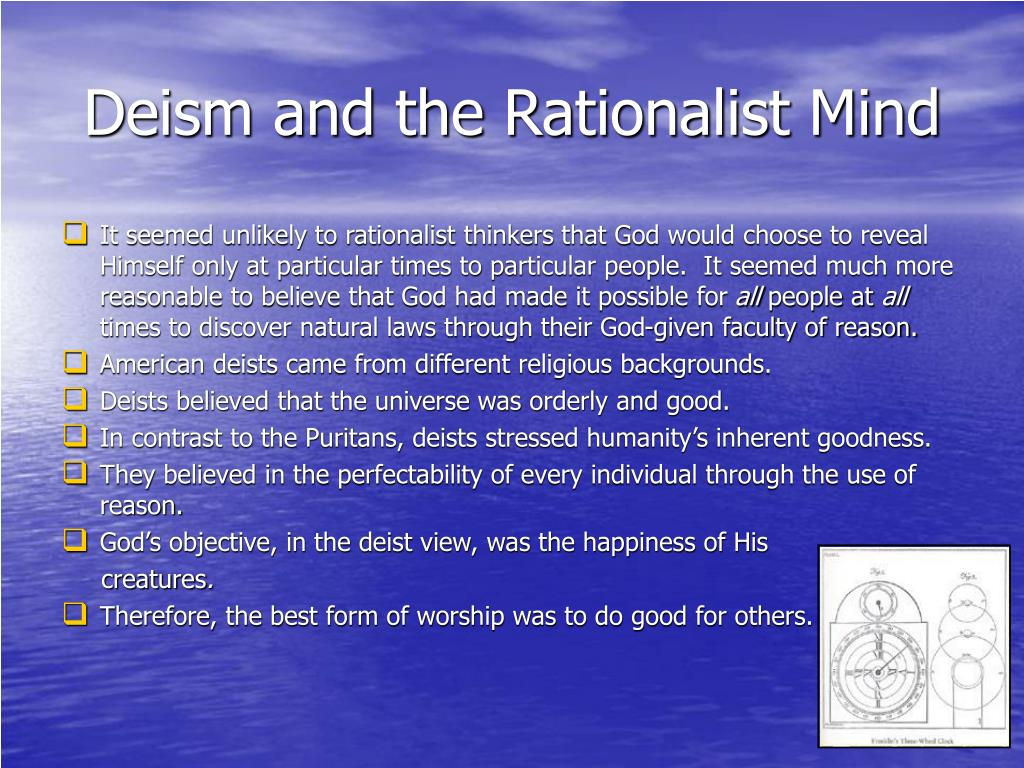 Deism and the Rationalist Mind