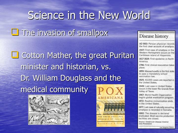 Science in the new world