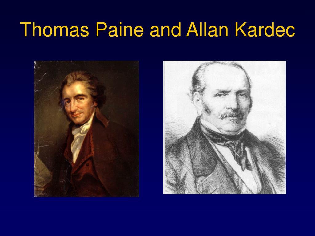 Thomas Paine and Allan Kardec