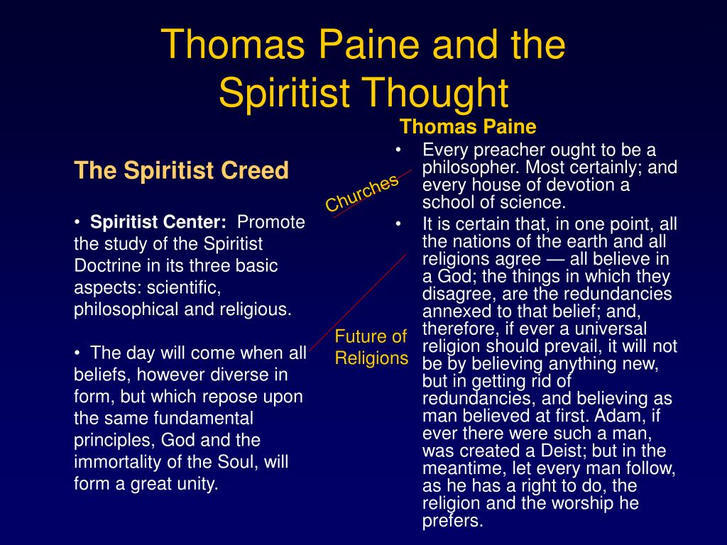 Thomas Paine and the