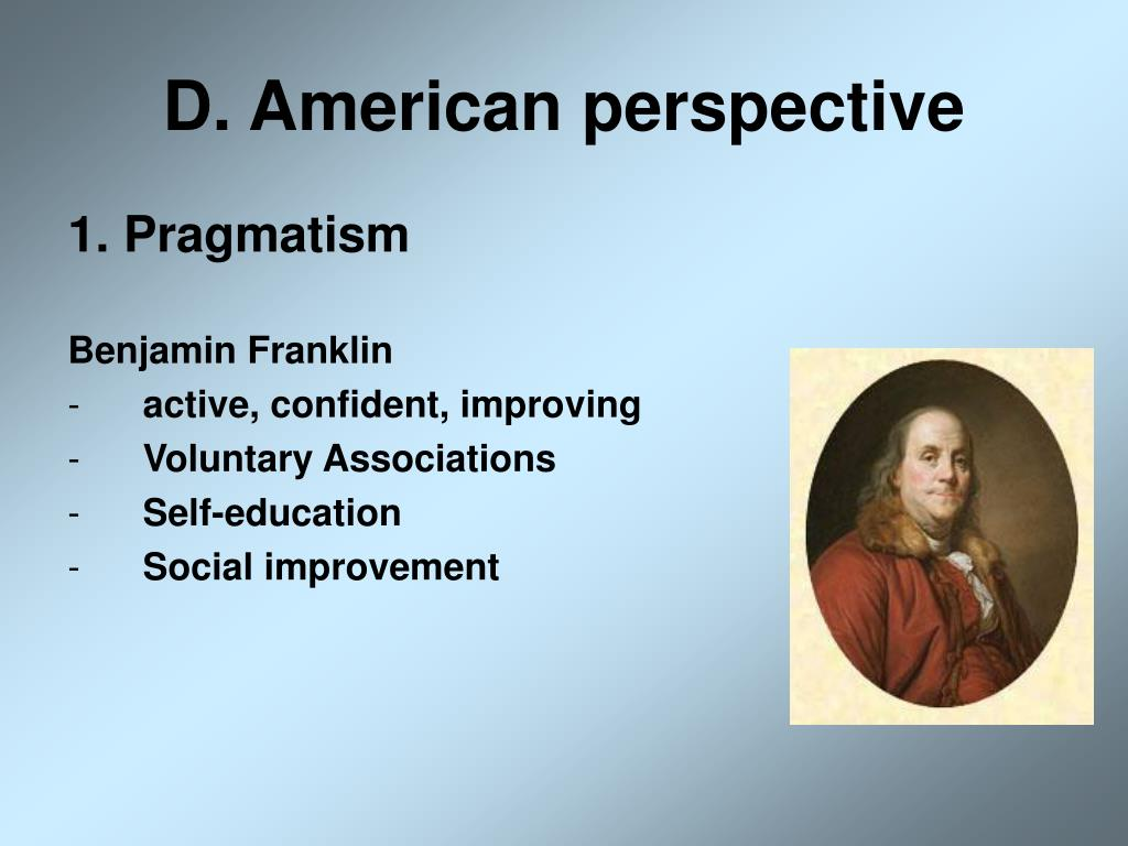 D. American perspective