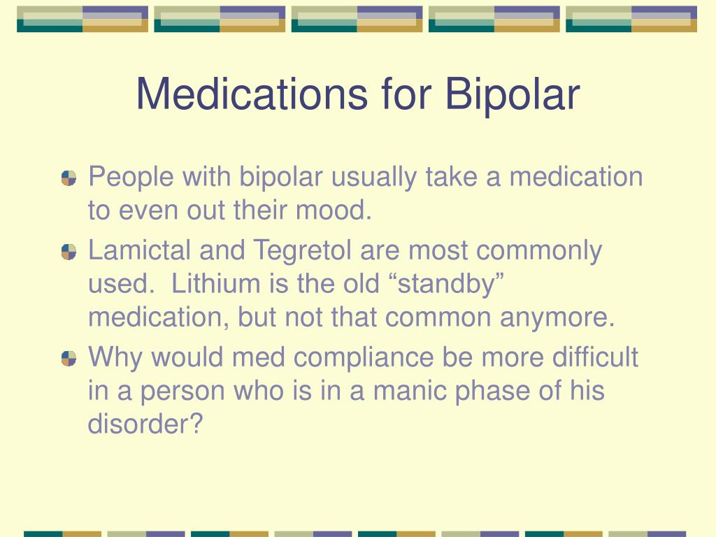 Medications for Bipolar