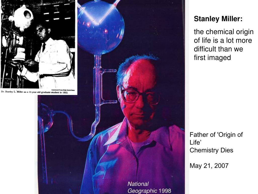 Stanley Miller: