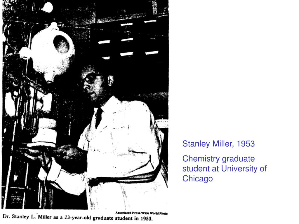 Stanley Miller, 1953