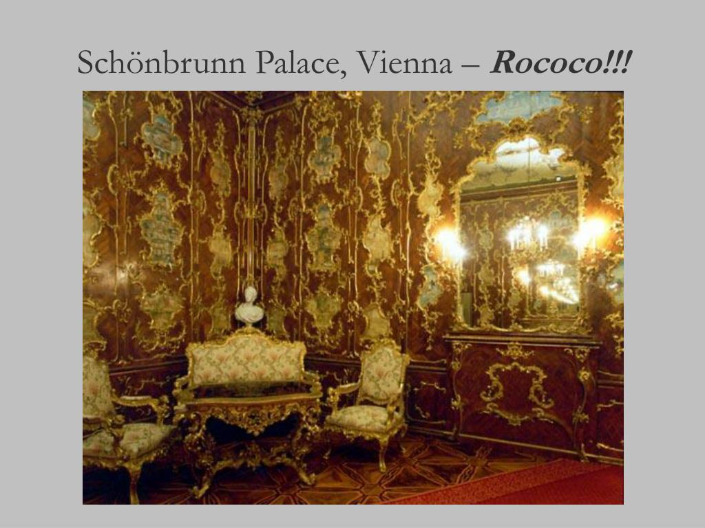 Schönbrunn Palace, Vienna –