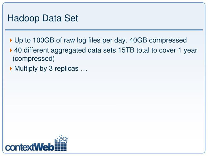 Hadoop Data Set