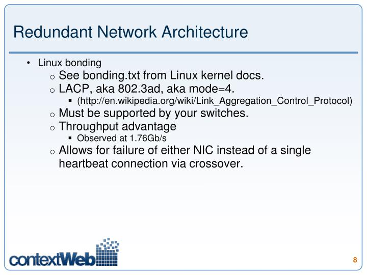 Redundant Network Architecture