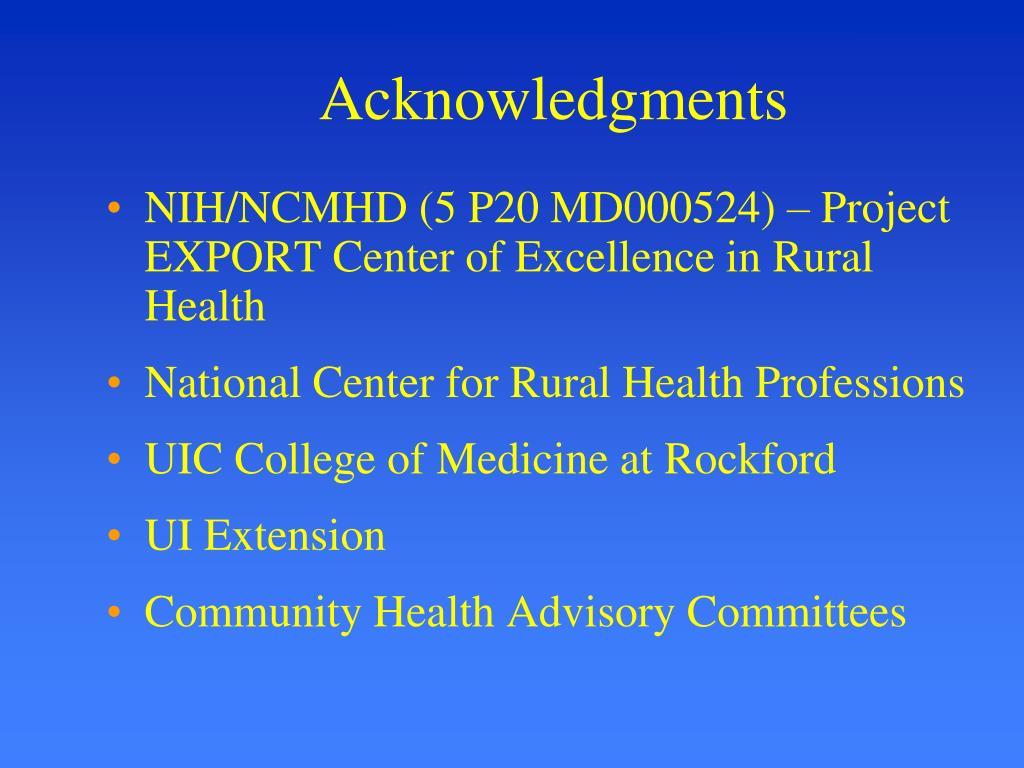 Acknowledgments