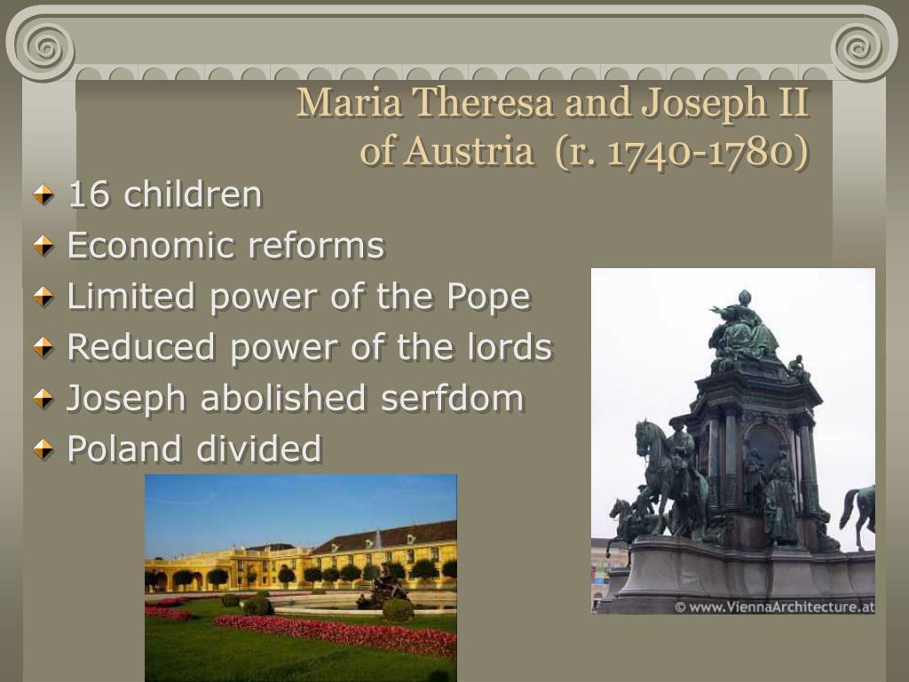 Maria Theresa and Joseph II