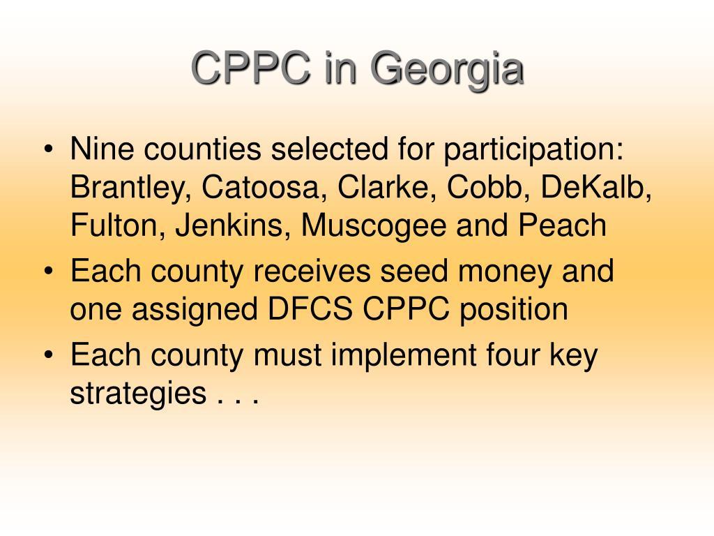 CPPC in Georgia