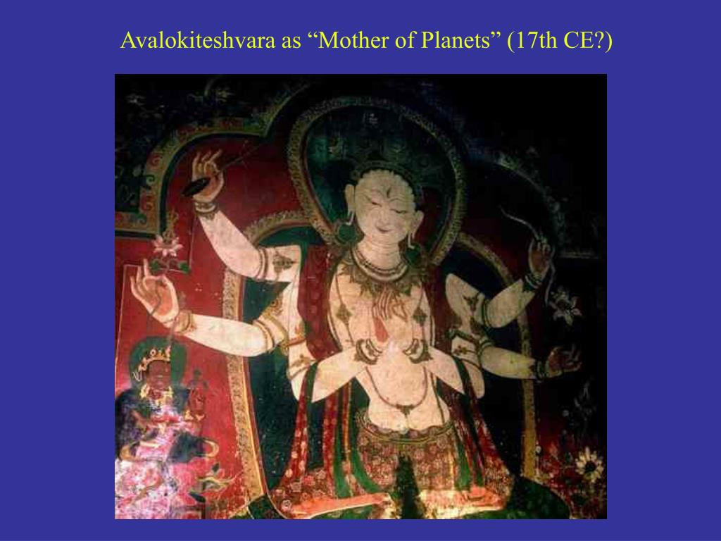 "Avalokiteshvara as ""Mother of Planets"" (17th CE?)"