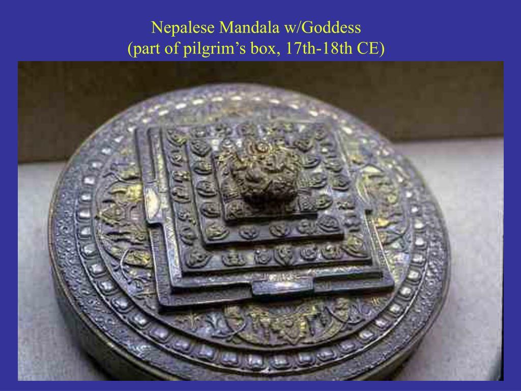 Nepalese Mandala w/Goddess
