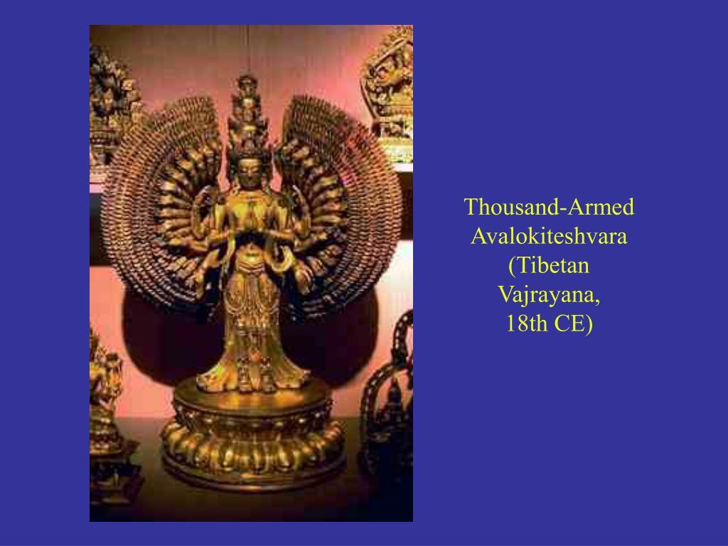 Thousand-Armed Avalokiteshvara (Tibetan Vajrayana,