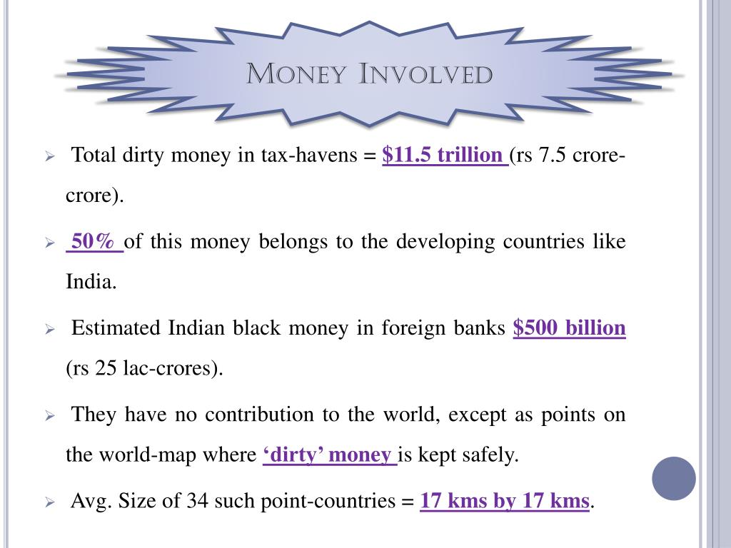 Money Involved